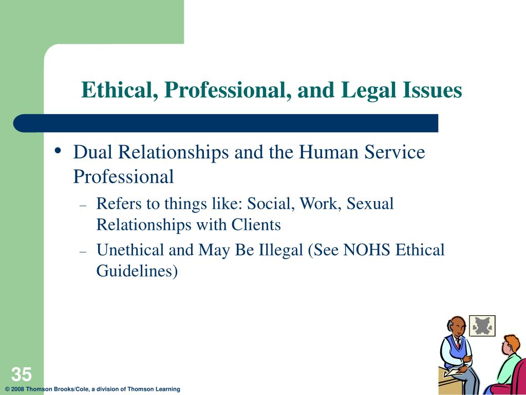 ETHICAL AND LEGAL ISSUES IN SUPERVISION