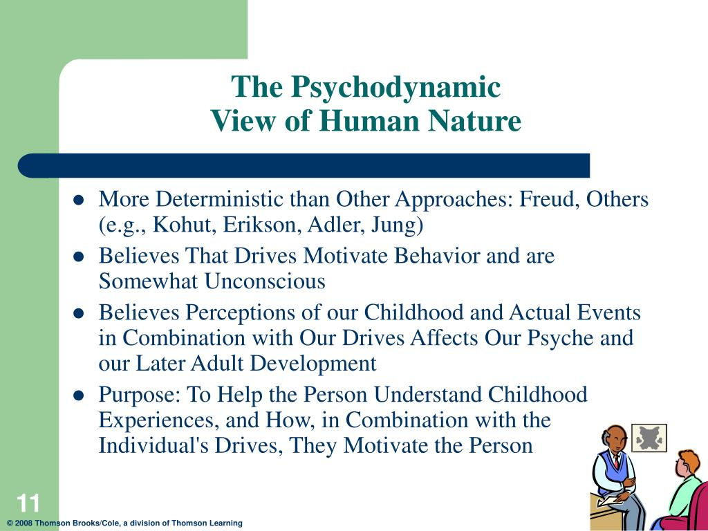 Psychoanalytic Theory View Of Human Nature