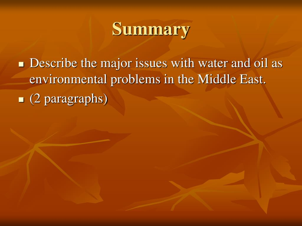 major environmental problems in the north eastern Uae's most major environmental challenges addressed  the uae is in the midst of several initiatives aimed at tackling some of the biggest environmental issues facing the country.