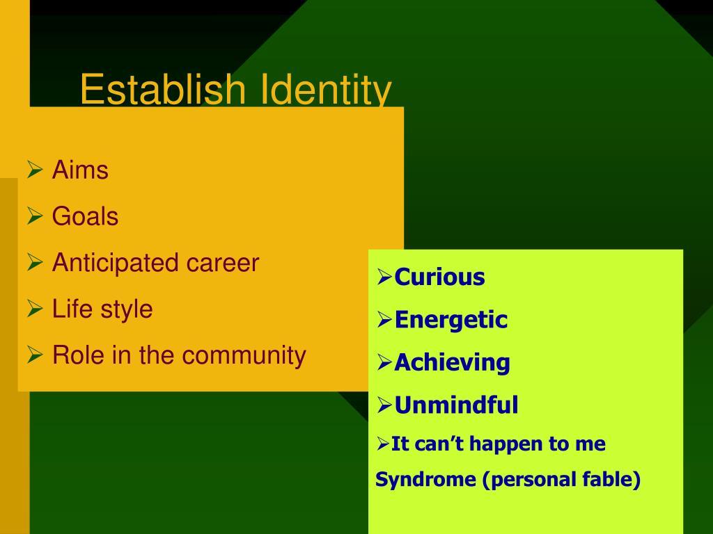 Establish Identity