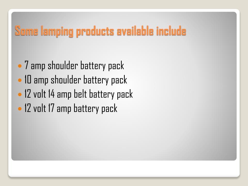 7 amp shoulder battery pack