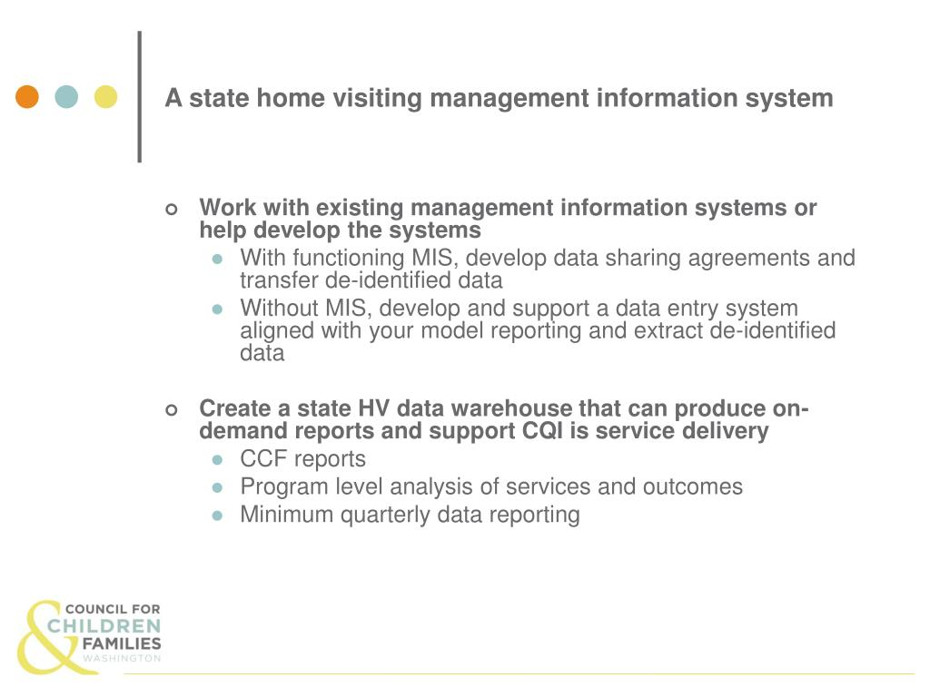 A state home visiting management information system