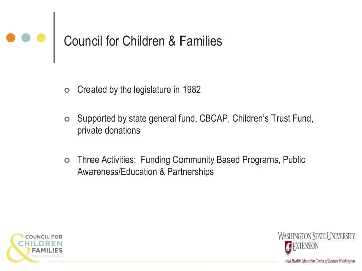 Council for children families