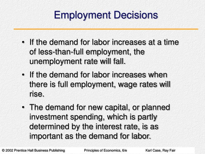 Employment Decisions
