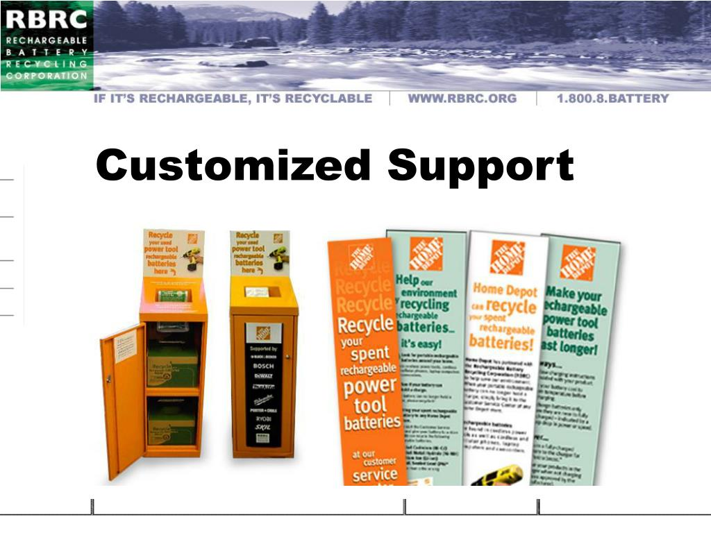Customized Support