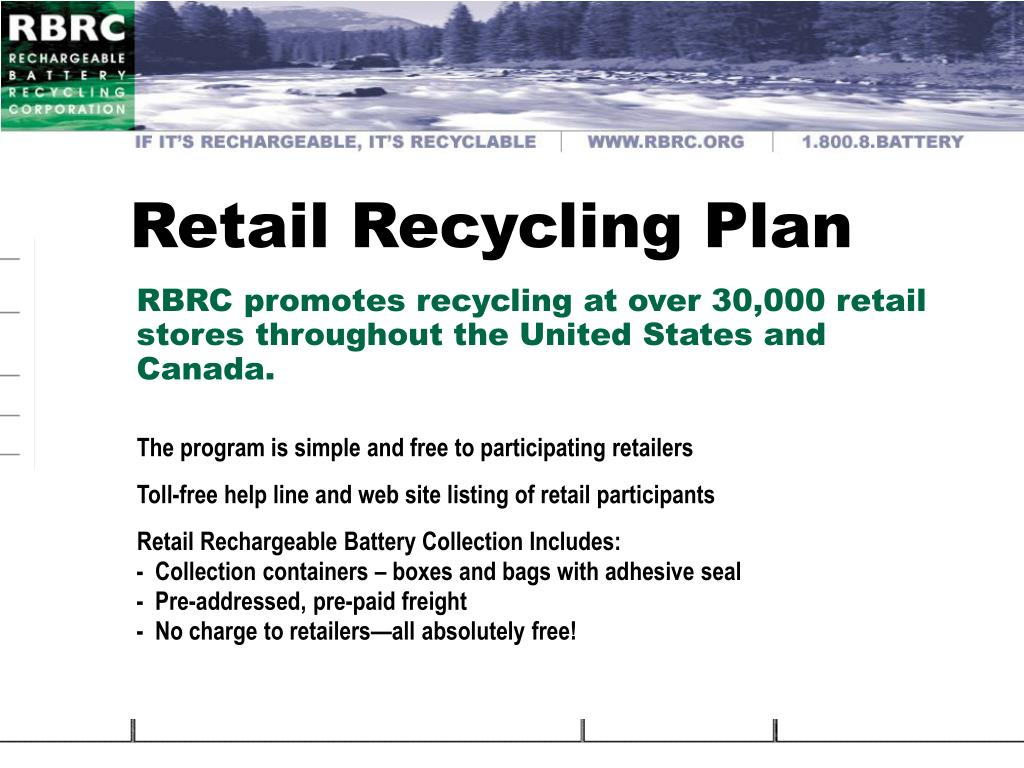 Retail Recycling Plan