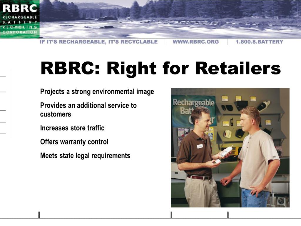 RBRC: Right for Retailers