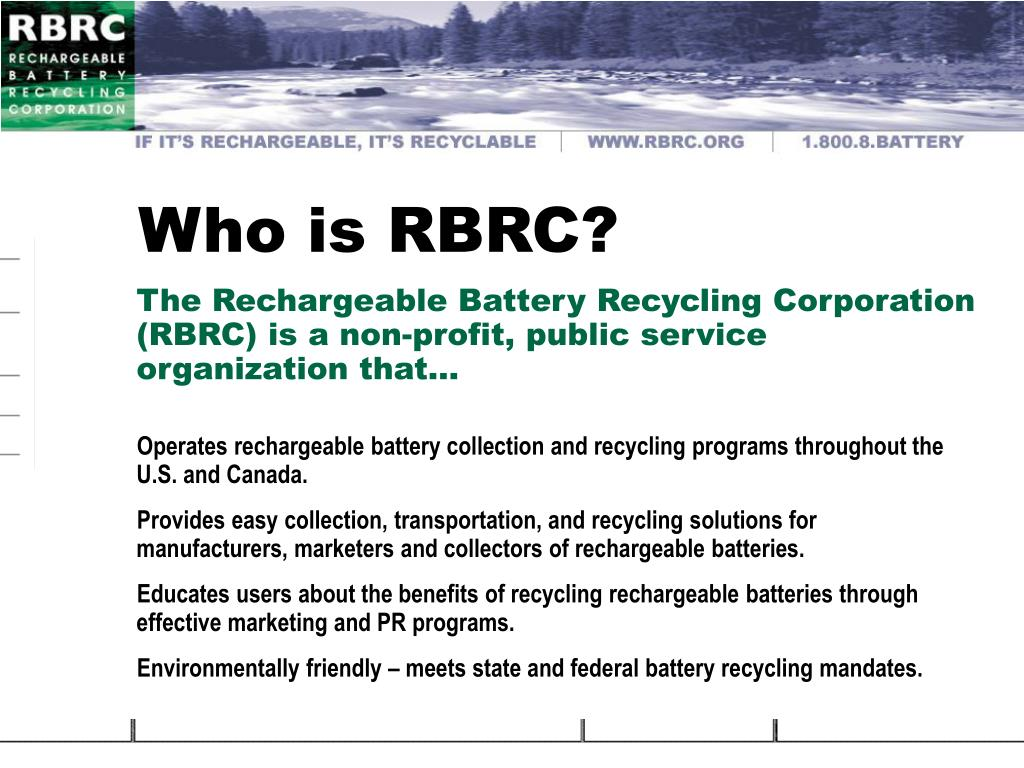 Who is RBRC?