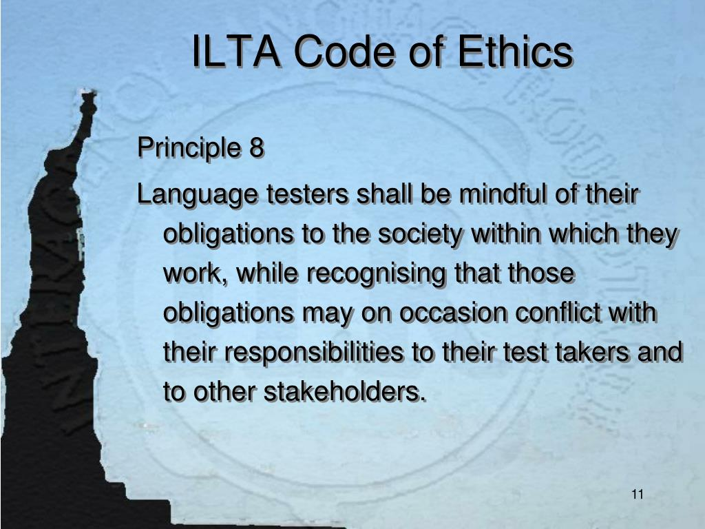 ILTA Code of Ethics