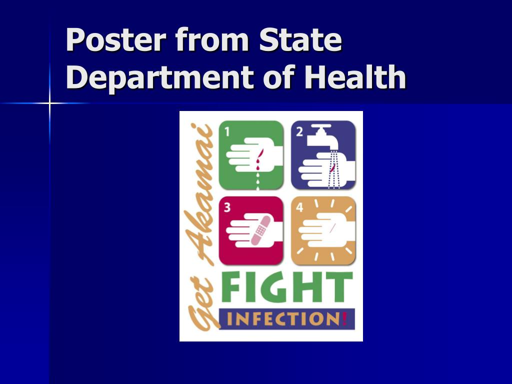 Poster from State Department of Health