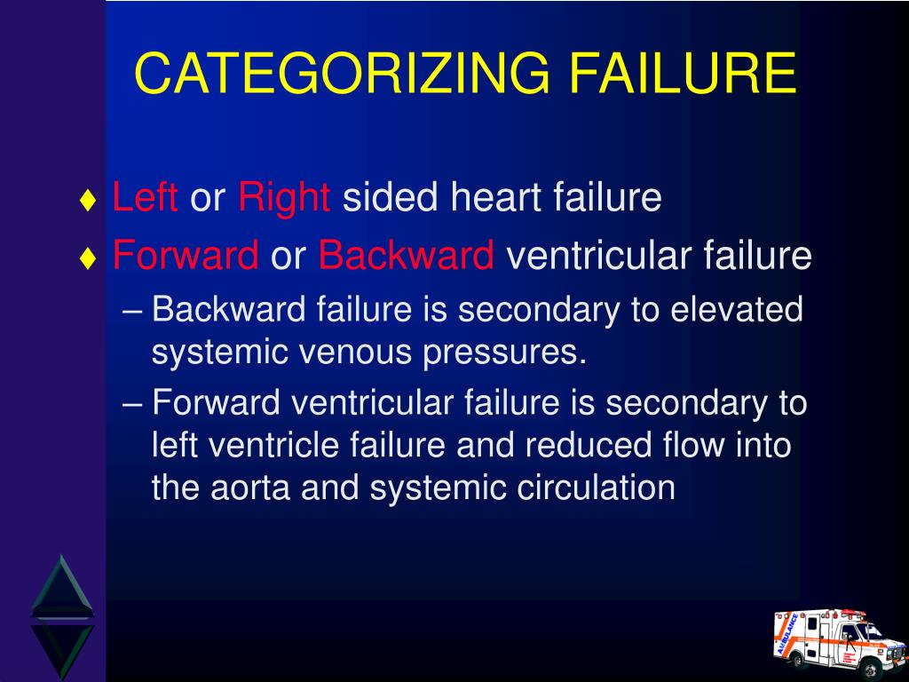 CATEGORIZING FAILURE