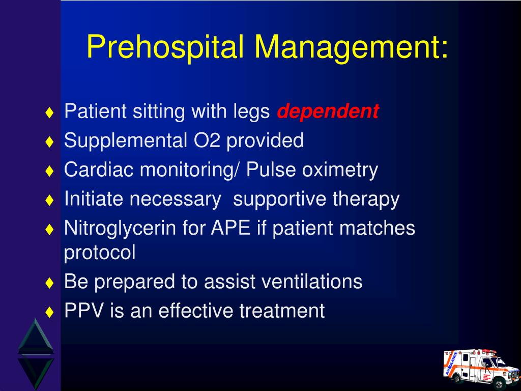 Prehospital Management: