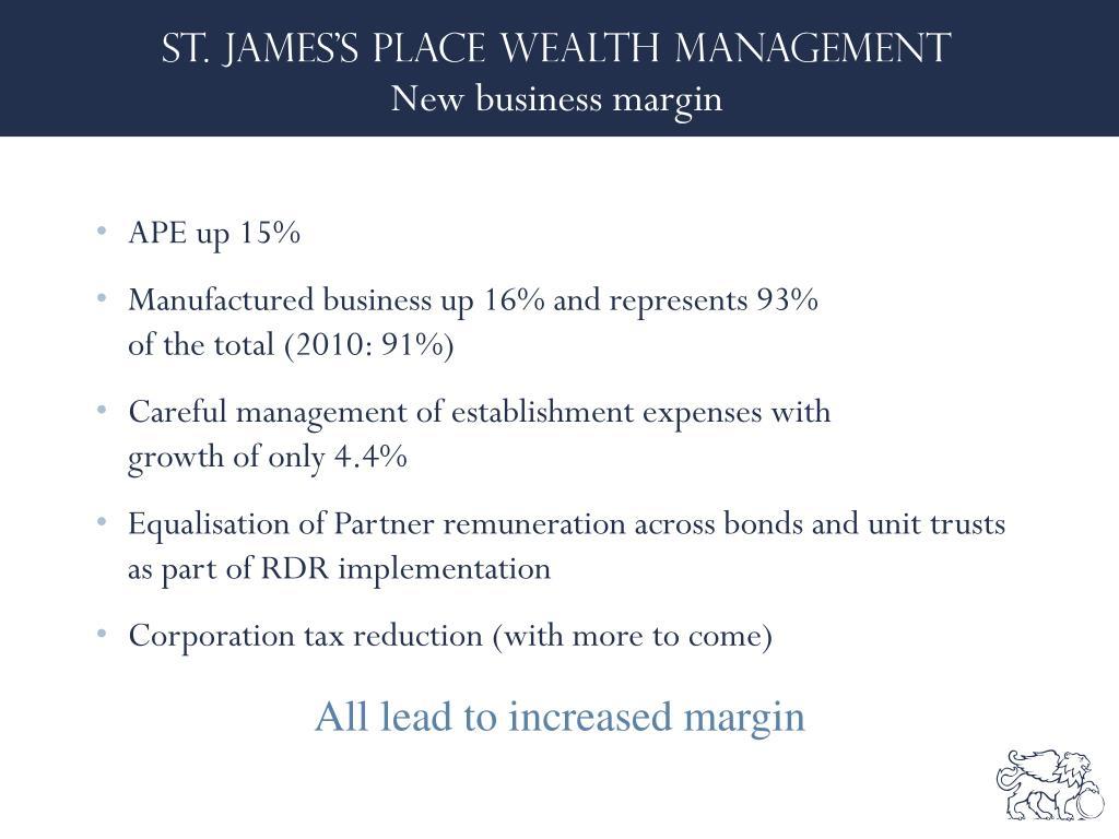 New business margin