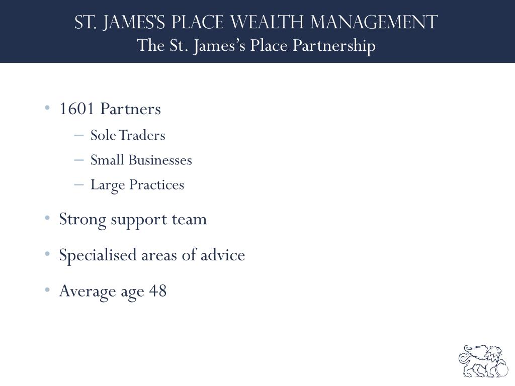 The St. James's Place Partnership