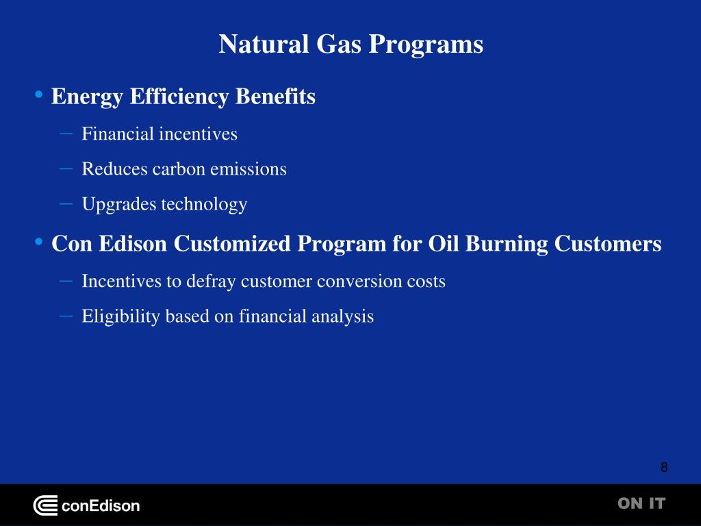 Natural Gas Programs