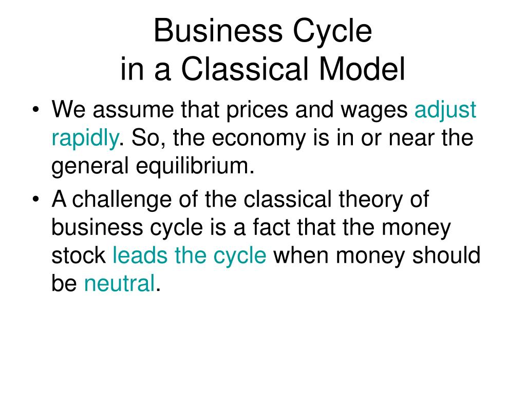 an analysis of classical macroeconomics Nonetheless, classical economics is the jumping off point for understanding all modern macroeconomic theories, since in one way or another they change or relax the assumptions first discussed in the classical school of thought to derive a more realistic model.