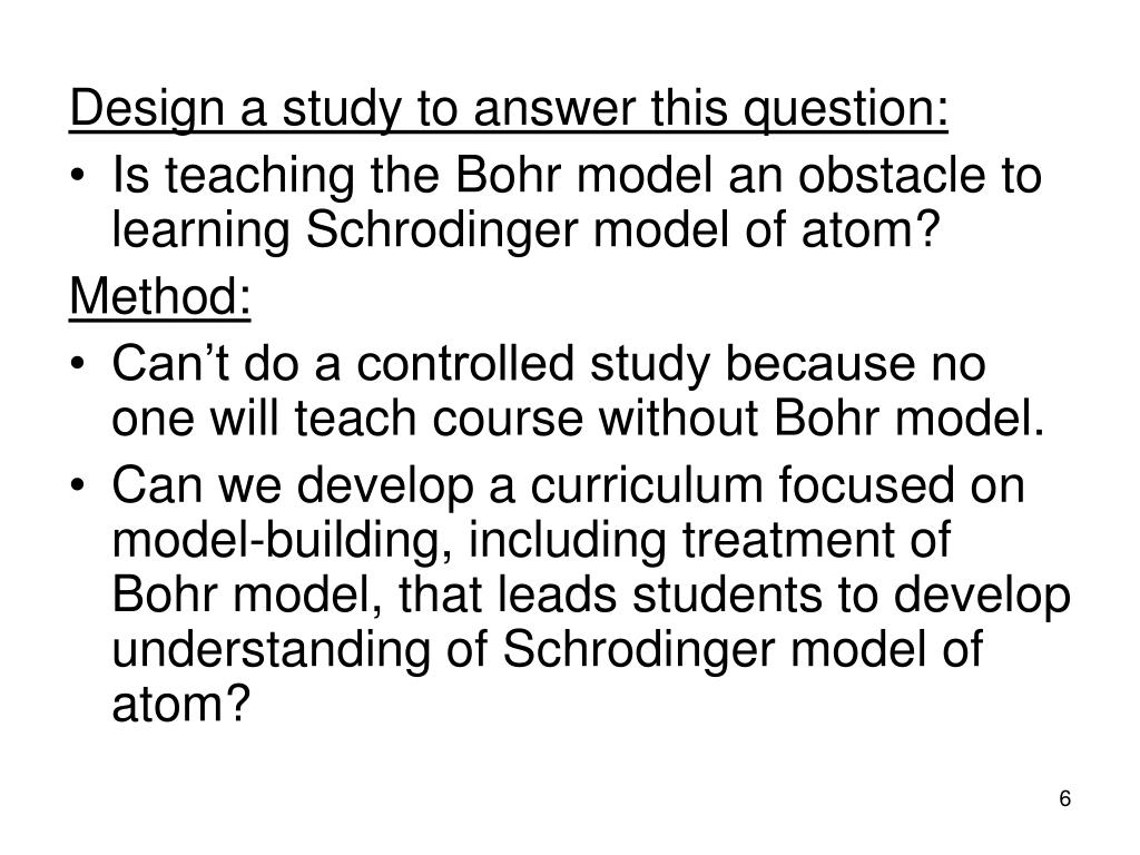 Design a study to answer this question: