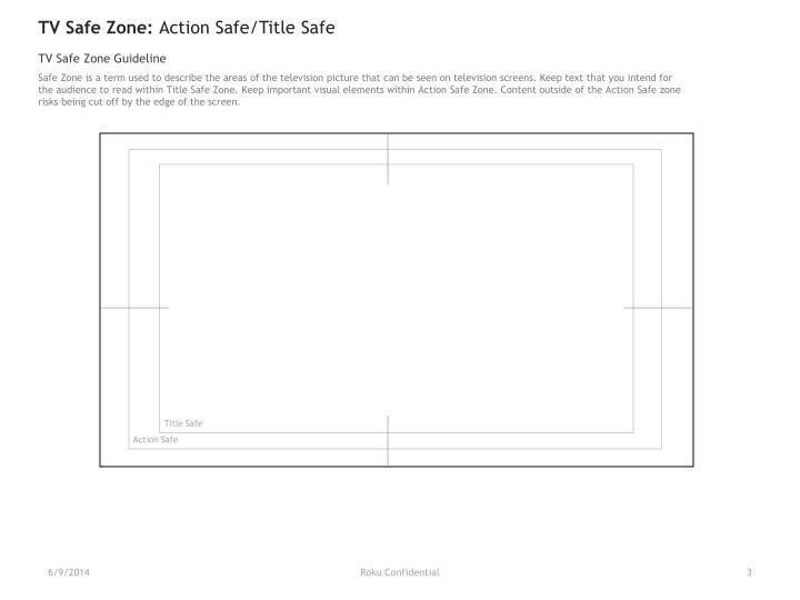 TV Safe Zone: