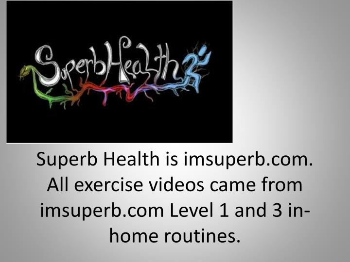 Superb Health is