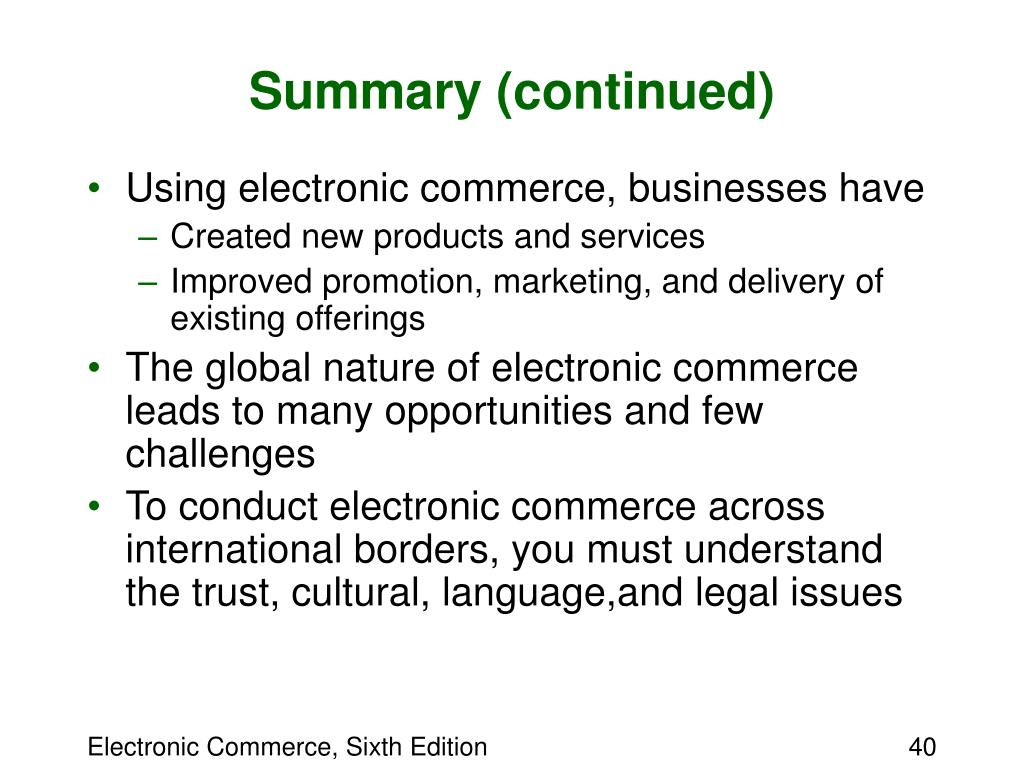chapter 1 introduction to electronic commerce Browse and read chapter 1 introduction to electronic commerce chapter 1 introduction to electronic commerce how a simple idea by reading can improve you to be a successful person.