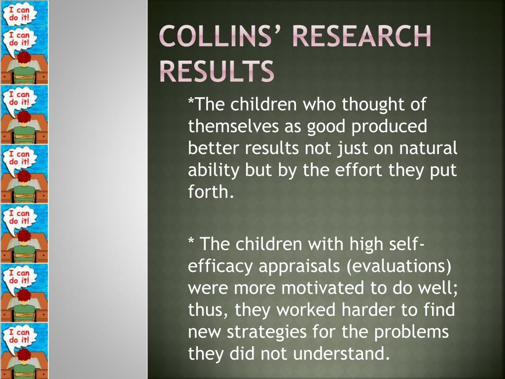 Collins' Research Results