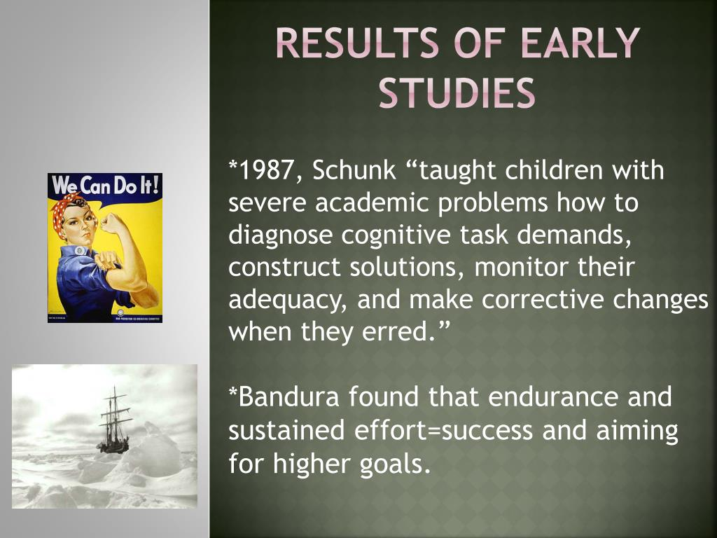 Results of Early Studies