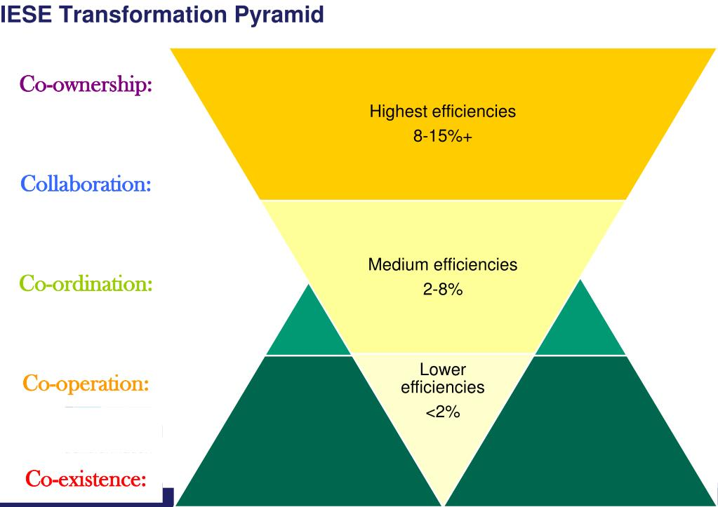IESE Transformation Pyramid