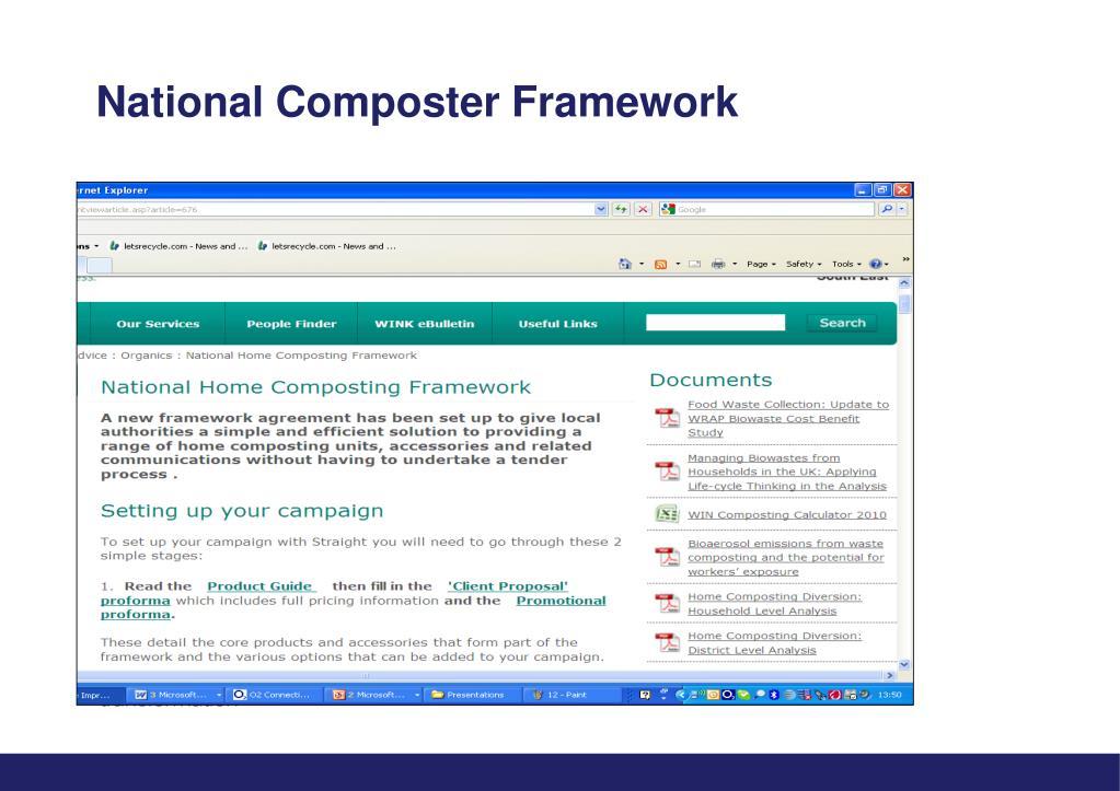 National Composter Framework