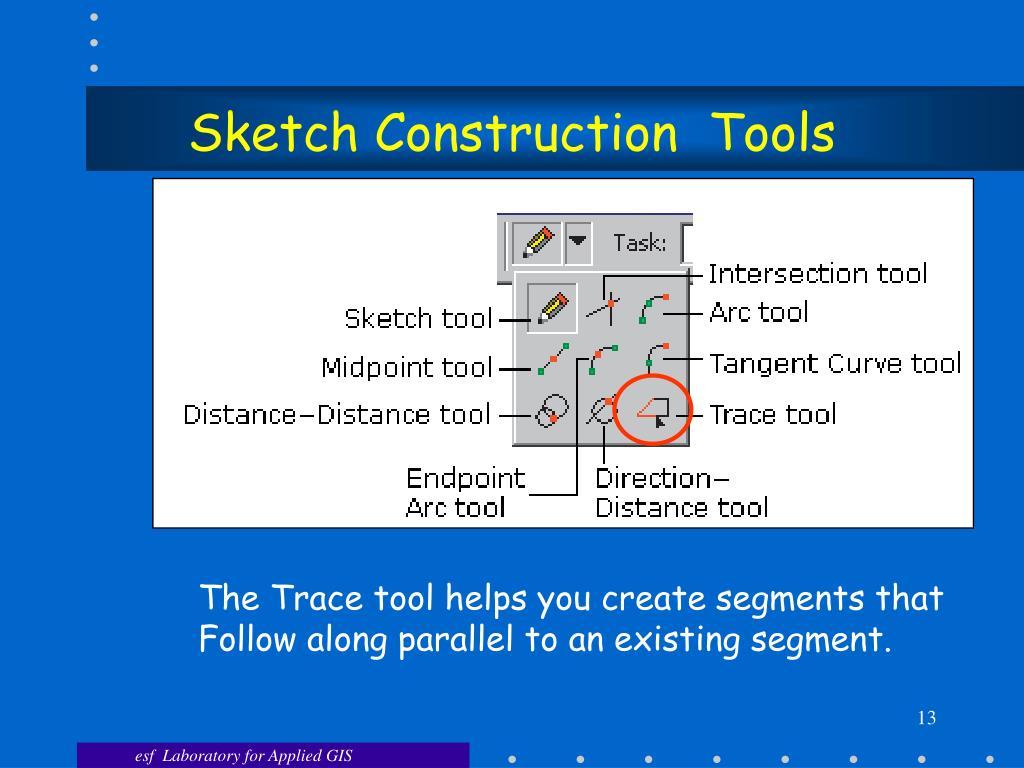 Sketch Construction  Tools