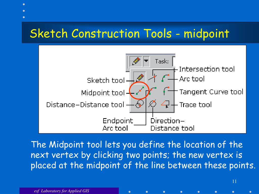 Sketch Construction Tools - midpoint
