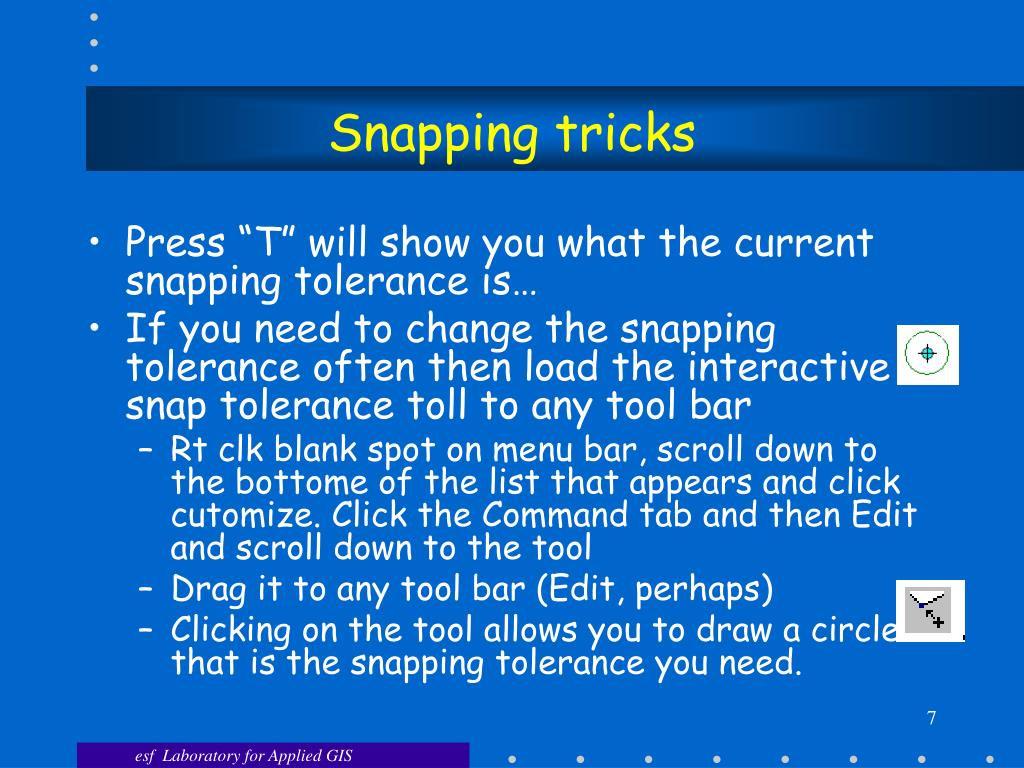 Snapping tricks