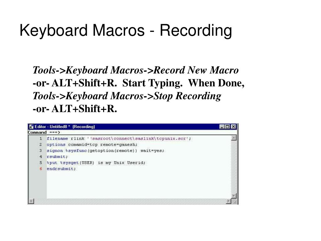 powerpoint assign macro to keyboard shortcut
