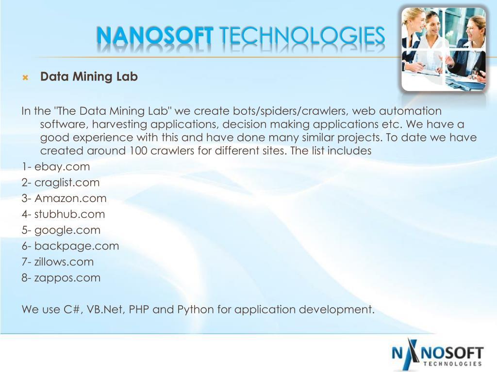Data Mining Lab