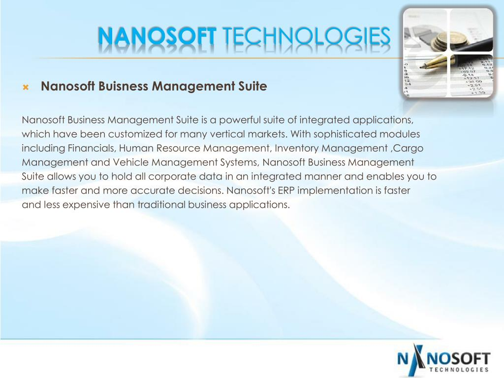 Nanosoft