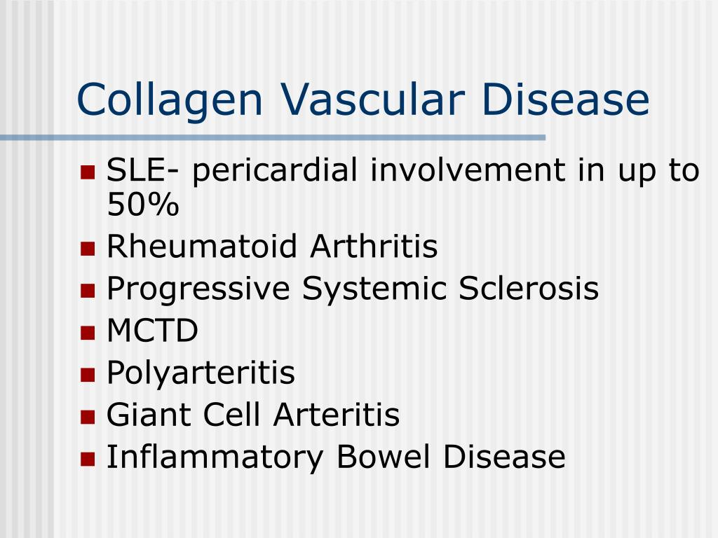 Collagen Vascular Disease