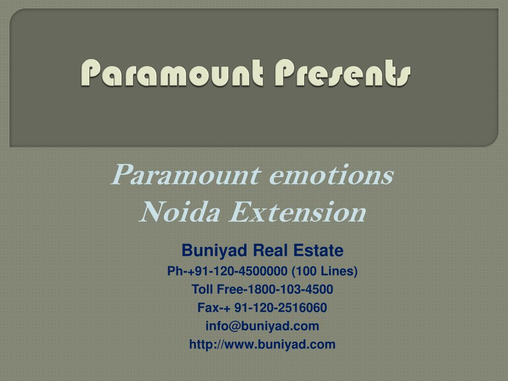 Paramount Presents