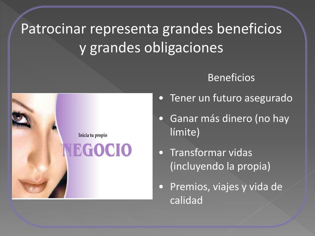Patrocinar representa grandes beneficios y grandes obligaciones