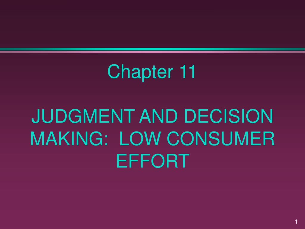 judgement and decision making A leader's most important role in any organization is making good judgments—well-informed, wise decisions that produce the desired outcomes.