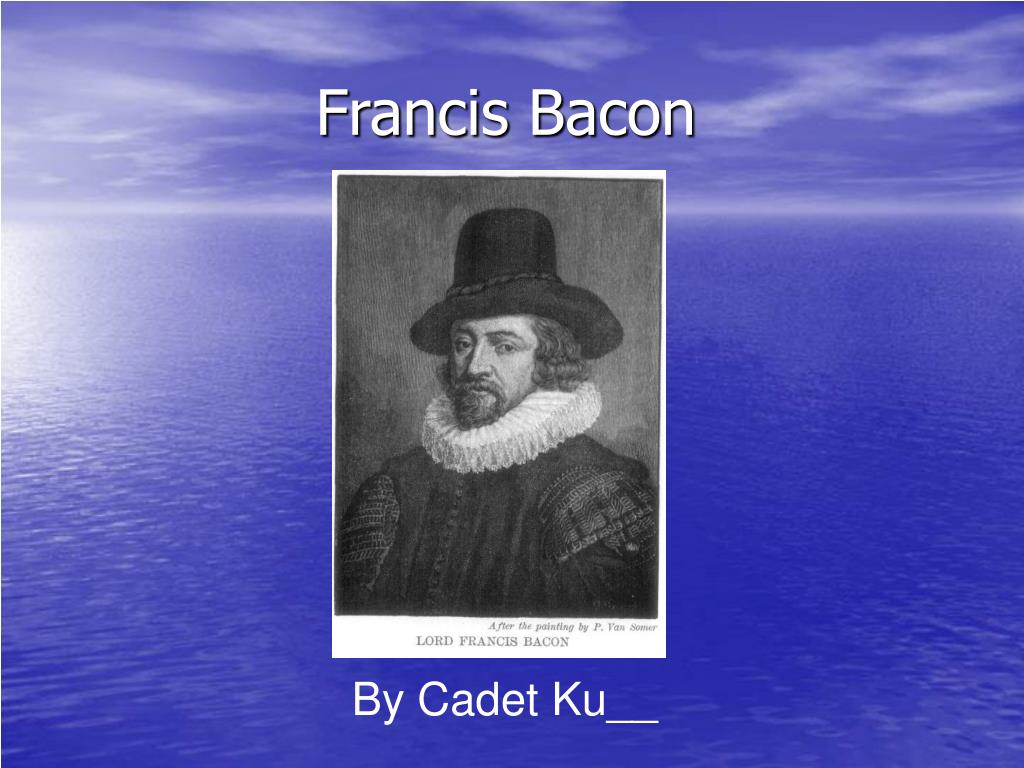bacon as an essayist