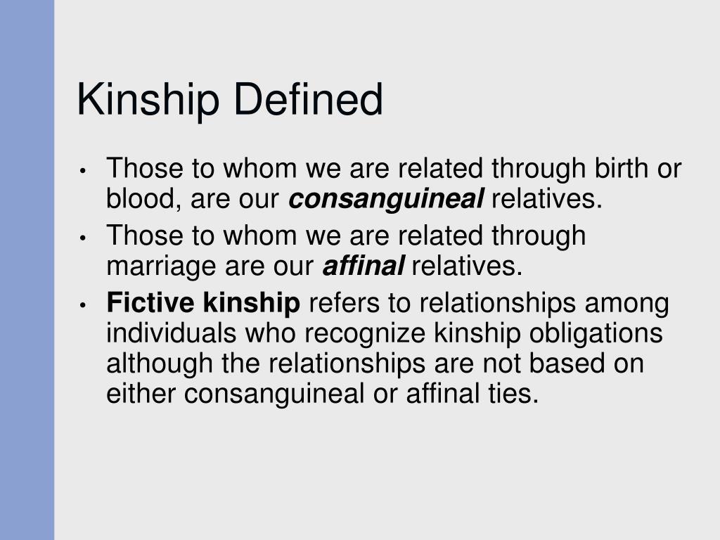 Kinship Defined