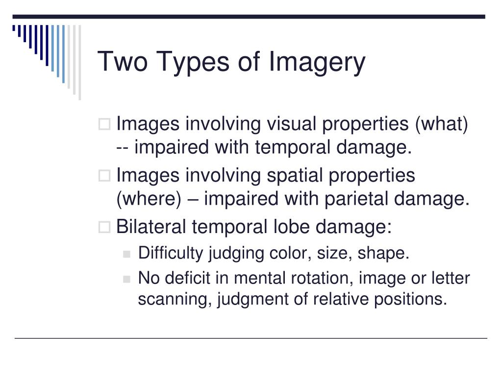 Two Types of Imagery