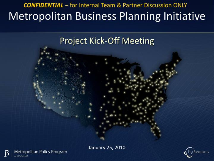 Metropolitan business planning initiative l.jpg