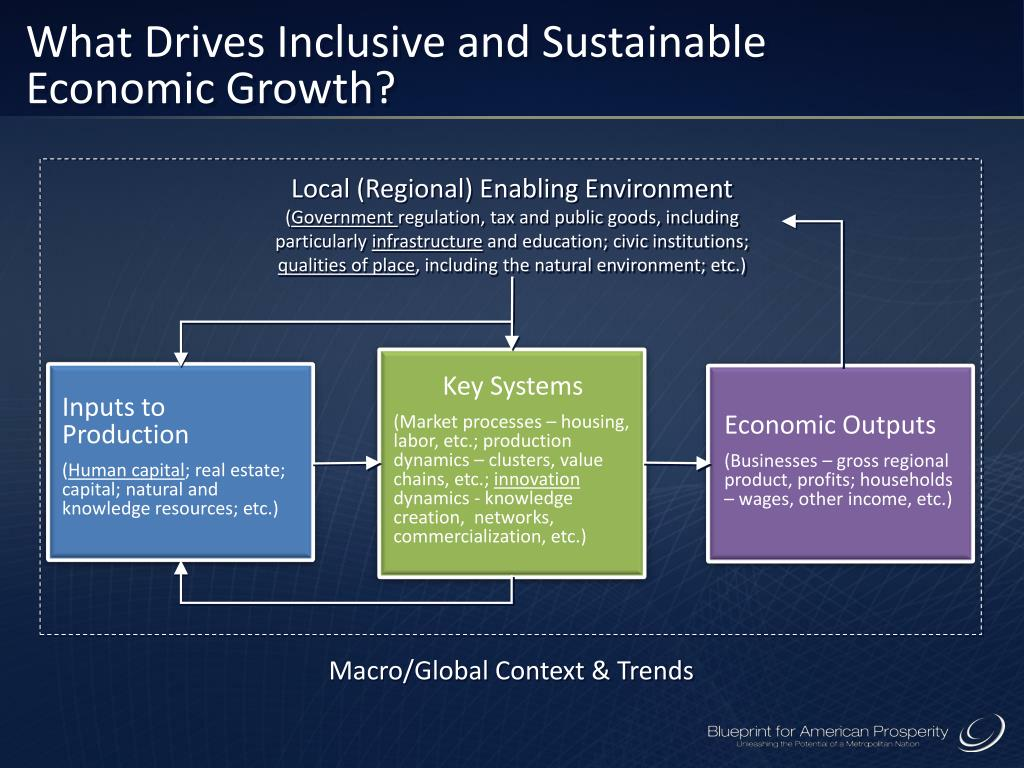 What Drives Inclusive and Sustainable