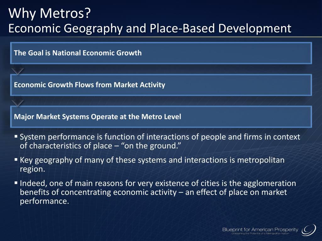 Why Metros?