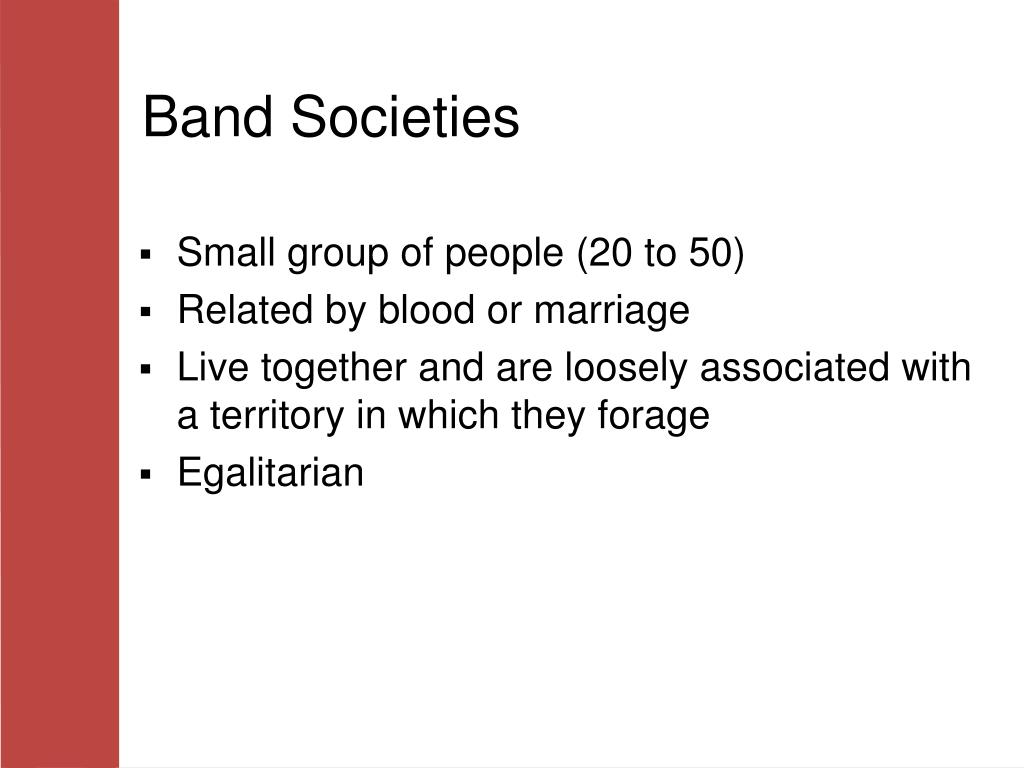 Band Societies