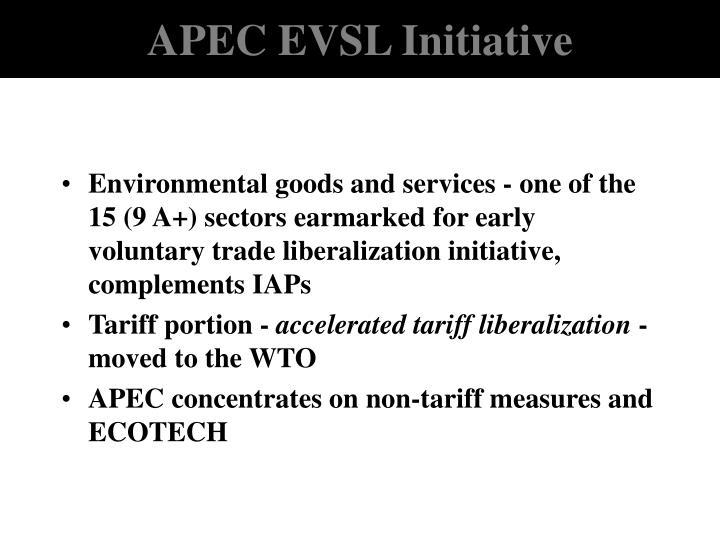 APEC EVSL Initiative