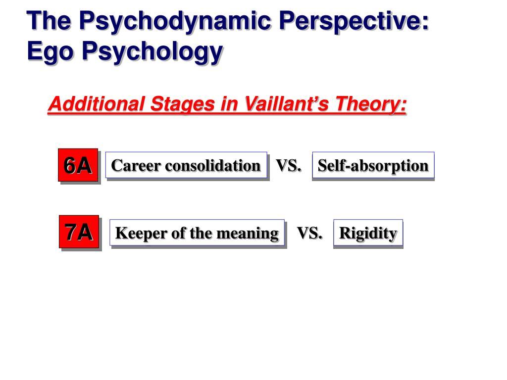 Vaillant longitudinal study meaning