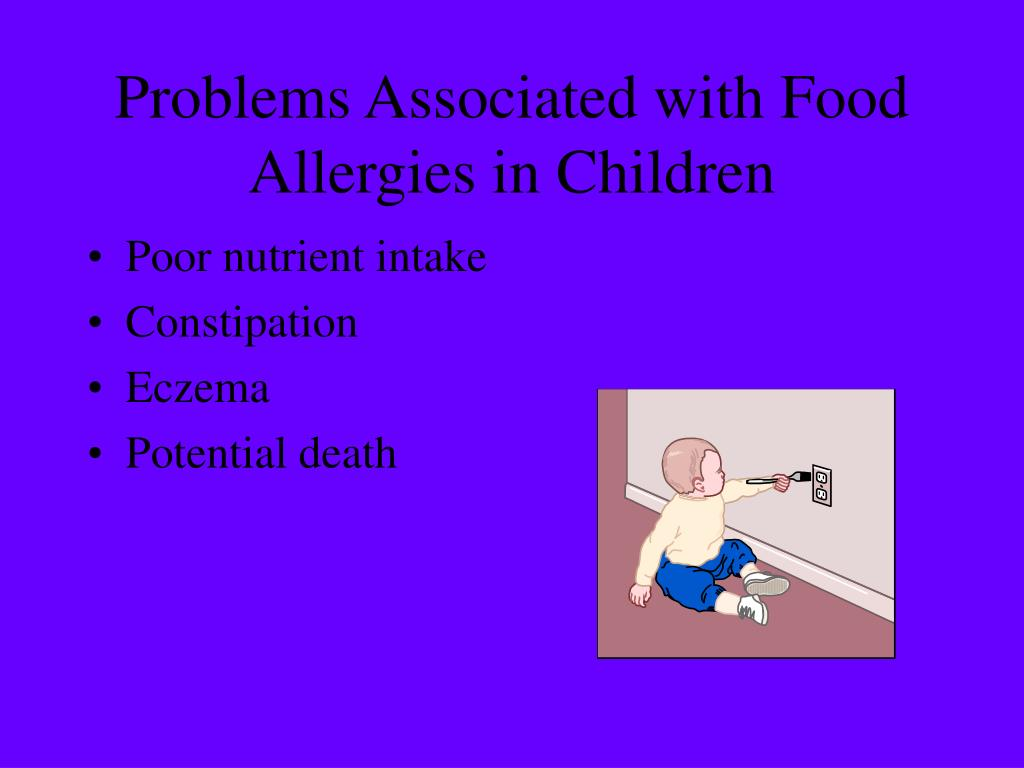 Problems Associated with Food Allergies in Children