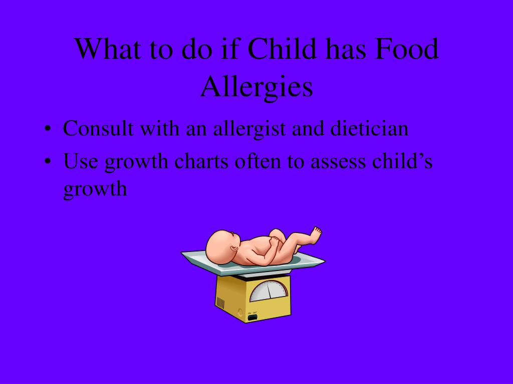 What to do if Child has Food Allergies
