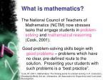 what is mathematics9